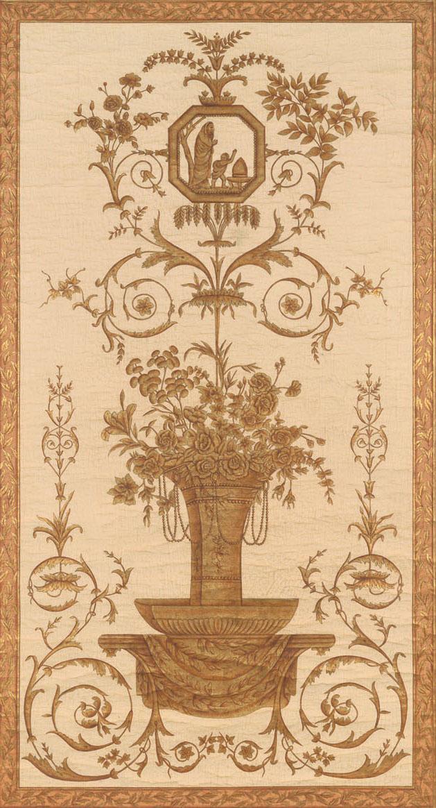 Английские обои Iksel,  коллекция Scenic & Architectural Wallpapers, артикулLouisXVIArabesqueL16L