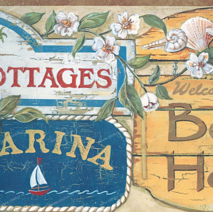 Американские обои Chesapeake,  коллекция Coastal Waters Volume II, артикулCT46021B