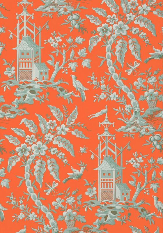Американские обои Thibaut,  коллекция Imperial Garden, артикулT14205