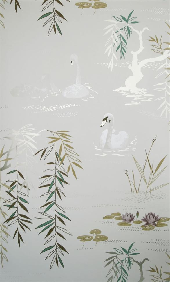 Английские обои Nina Campbell,  коллекция Sylvana, артикулNCW4020/03