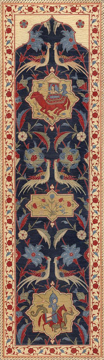 Английские обои Iksel,  коллекция Scenic & Architectural Wallpapers, артикулAleppoBlueALBL05