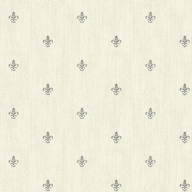 Американские обои York,  коллекция Ashford House - Black and White, артикулAB1863