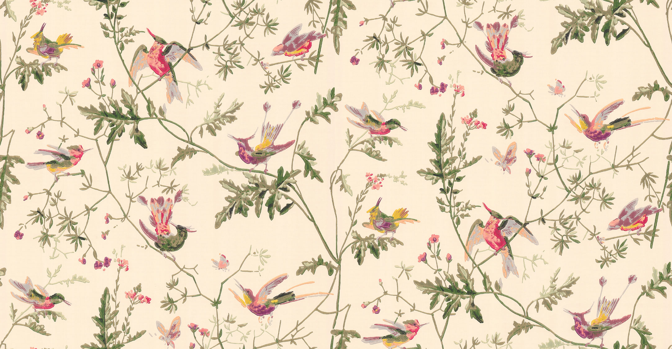 Английские обои Cole & Son,  коллекция Collection of Flowers, артикул62/1001