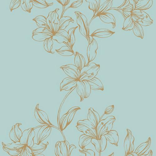 Французские обои Caselio,  коллекция Garden Party, артикул57436147