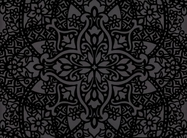 Английские обои Black edition,  коллекция Xanthina, артикулW364-03