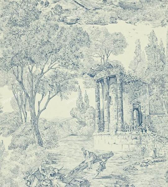 Английские обои Zoffany,  коллекция Chantemerle, артикулCHP07002