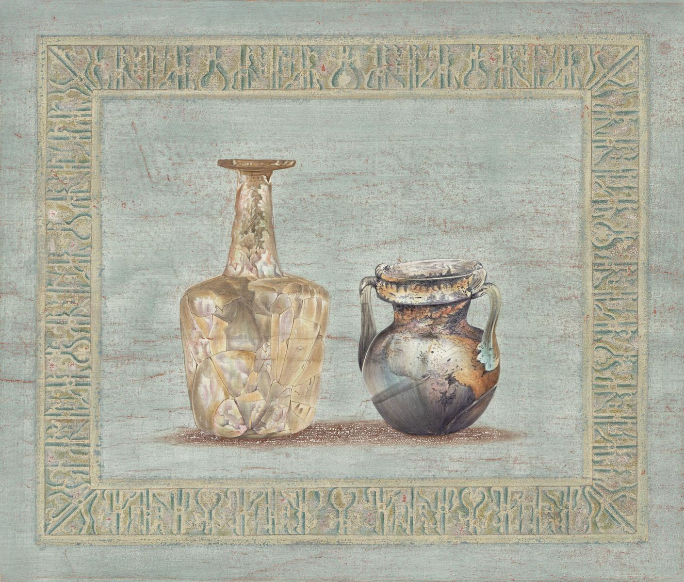 Английские обои Iksel,  коллекция Scenic & Architectural Wallpapers, артикулArchaeologyAY1