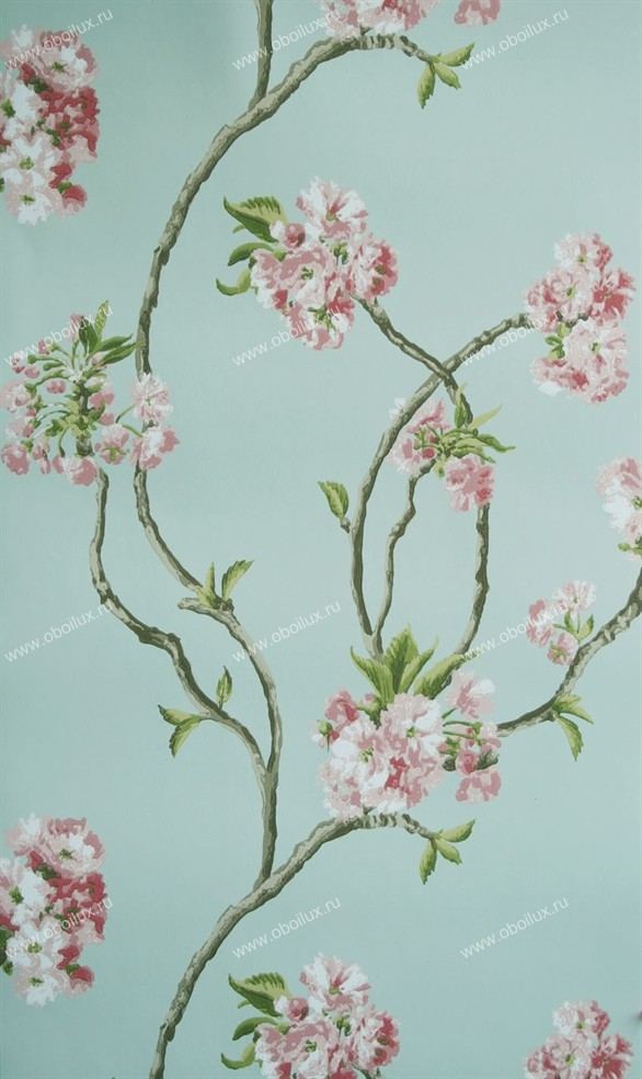 Английские обои Nina Campbell,  коллекция Wallpaper Album III, артикулNCW4027-02