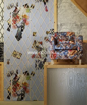 Английские обои Designers guild,  коллекция Christian Lacroix - Air de Paris, артикулPCL006/01