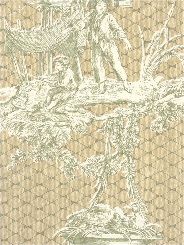 Американские обои Stroheim,  коллекция Color Gallery Neutrals vol. IV, артикул7542E0710