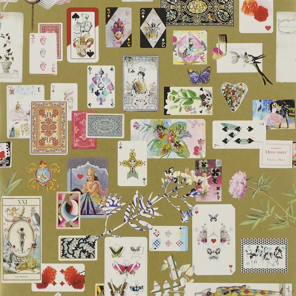 Английские обои Designers guild,  коллекция Christian Lacroix - Incroyables et Merveilleuses, артикулPCL697-06