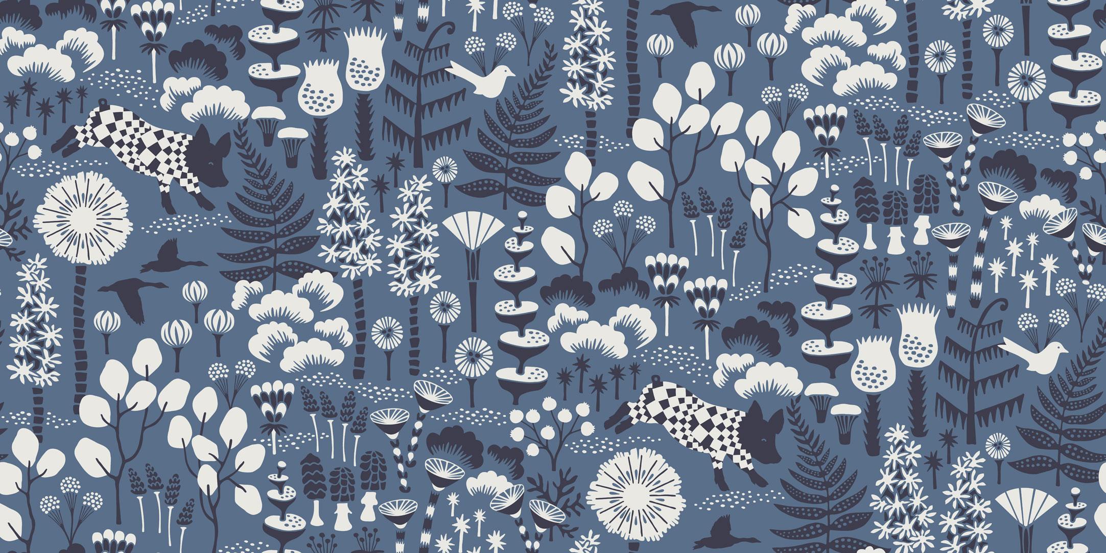 Шведские обои Borastapeter,  коллекция Wonderland by Hanna Werning, артикул1453