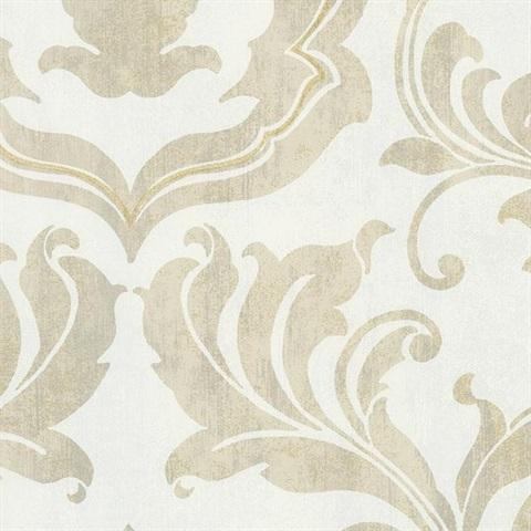 Американские обои York,  коллекция Gold Leaf, артикулGF0704