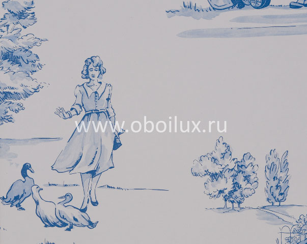 Английские обои Nina Campbell,  коллекция Perroquet, артикулNCW3837-03