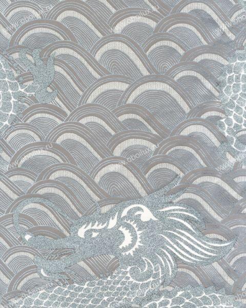 Английские обои Osborne & Little,  коллекция Matthew Williamson - Eden Wallpapers, артикулW6545-04