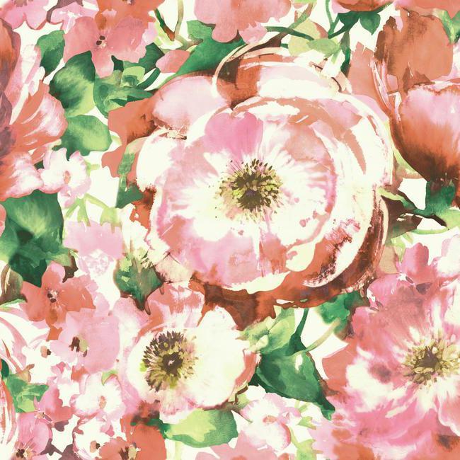 Американские обои York,  коллекция Watercolors, артикулWT4504