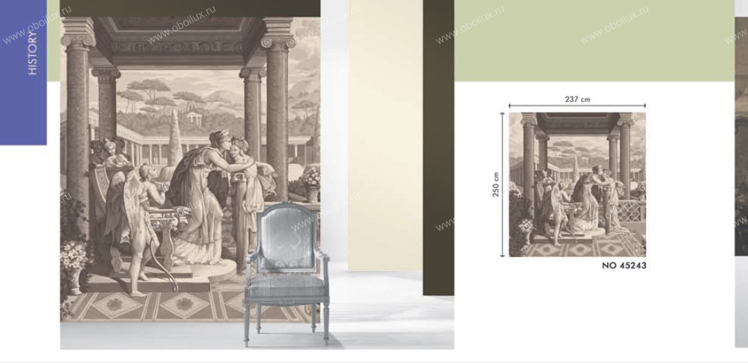 Немецкие обои Marburg,  коллекция Colour & life, артикул45243
