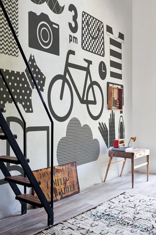 Итальянские обои Wall & deco,  коллекция Life 14, артикулWDFI1401-A