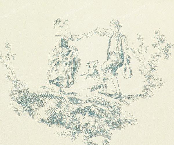 Французские обои Casadeco,  коллекция Amboise, артикулCBR15356113