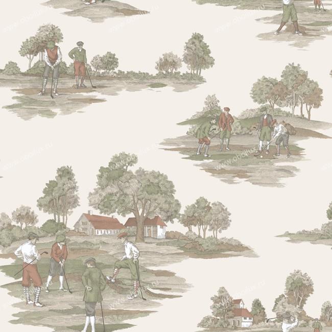 Американские обои York,  коллекция Ronald Redding - Houndstooth, артикулML1200
