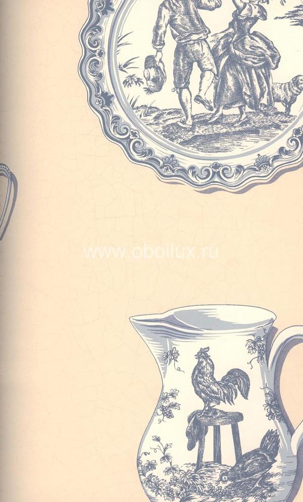 Американские обои Seabrook,  коллекция Heirloom Gardens, артикулBF40602