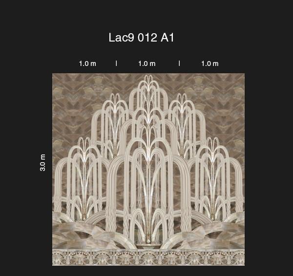 Российские обои Loymina,  коллекция Lac Deco, артикулLAC9-012-A1