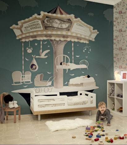 Испанские обои Tres Tintas,  коллекция Kids, артикул1001-1