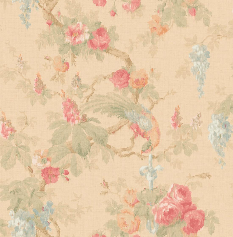 Американские обои Wallquest,  коллекция Watercolor Florals, артикулMF21101