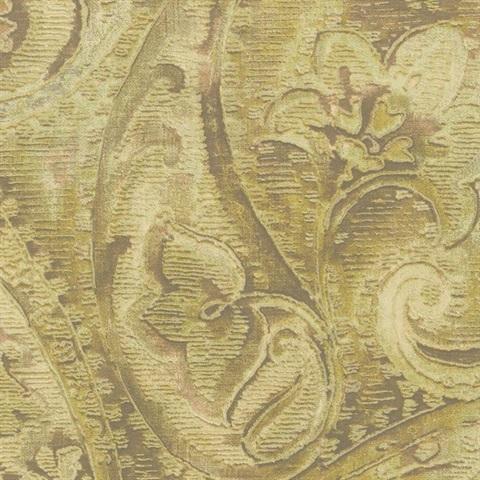 Американские обои York,  коллекция Gold Leaf, артикулGF0716