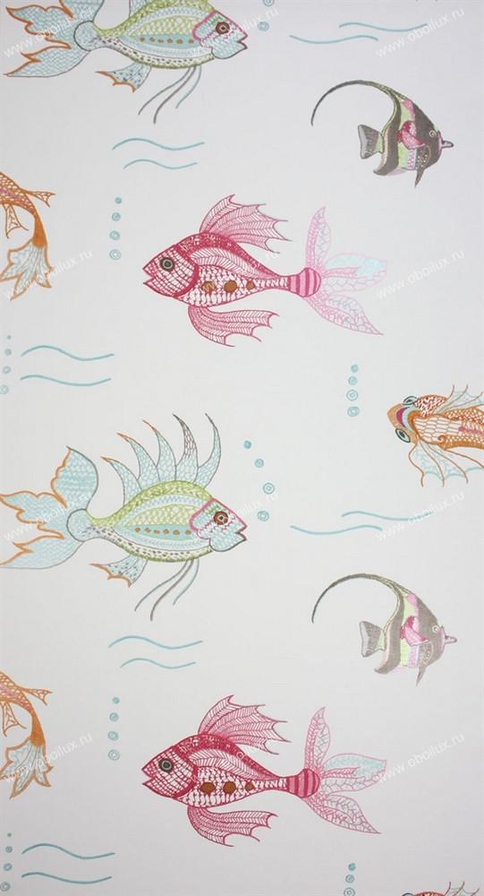 Английские обои Nina Campbell,  коллекция Wallpaper Album III, артикулNCW3833-03