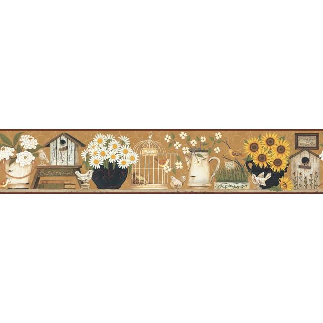 Американские обои York,  коллекция Hearts and Crafts III, артикулCB5546BD