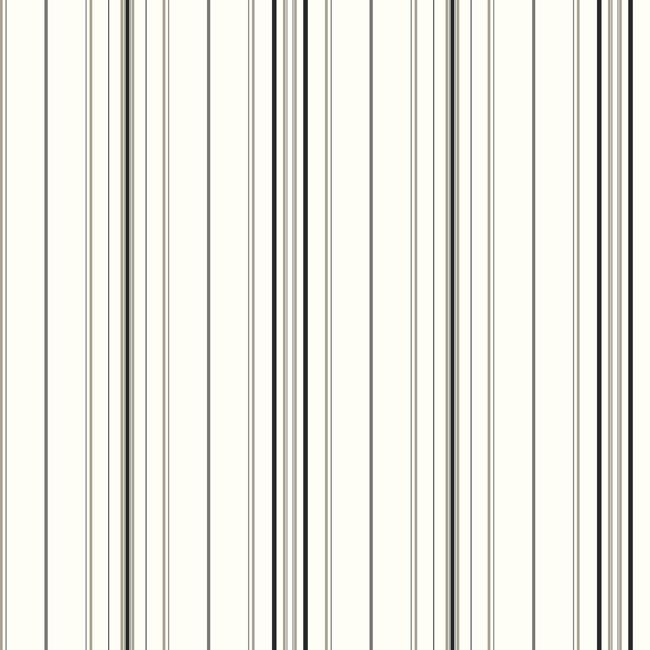 Американские обои York,  коллекция Ashford House - Black and White, артикулSA9109