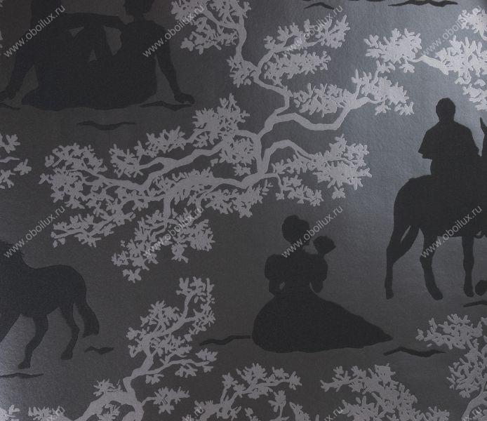 Обои  Eijffinger,  коллекция Black & White, артикул397581