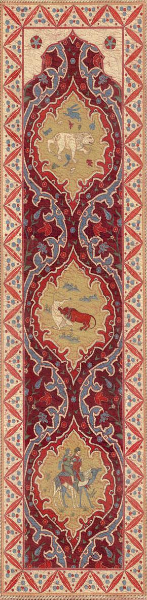 Английские обои Iksel,  коллекция Scenic & Architectural Wallpapers, артикулAleppoRedALRED06