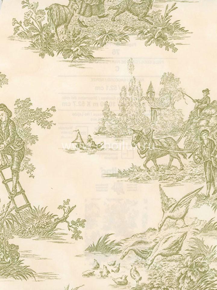Канадские обои Blue Mountain,  коллекция Green, артикулBC1581027