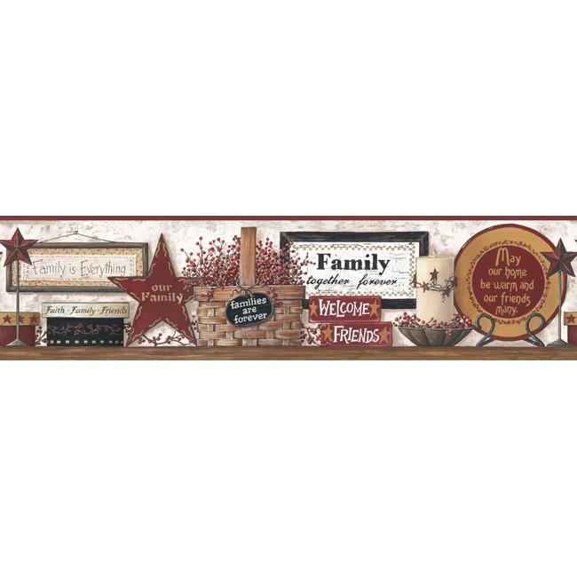 Американские обои York,  коллекция Hearts and Crafts III, артикулCB5521BD