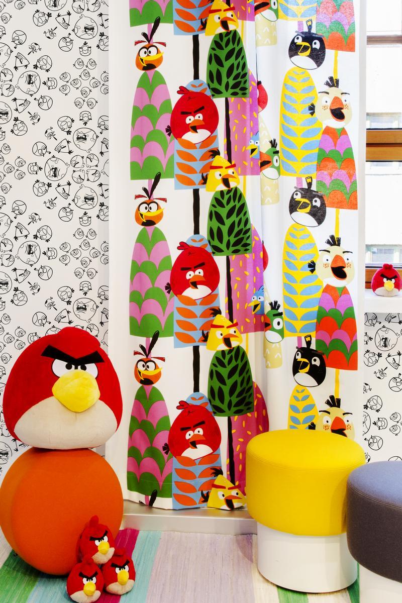 Обои  Valilla,  коллекция Angry Birds, артикул4988-1