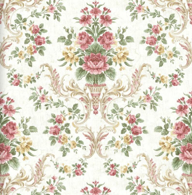 Американские обои Wallquest,  коллекция Style49 - Abbey Gardens, артикулHN40501