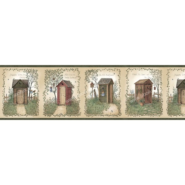 Американские обои Chesapeake,  коллекция Family & Friends III, артикулFFR50321B