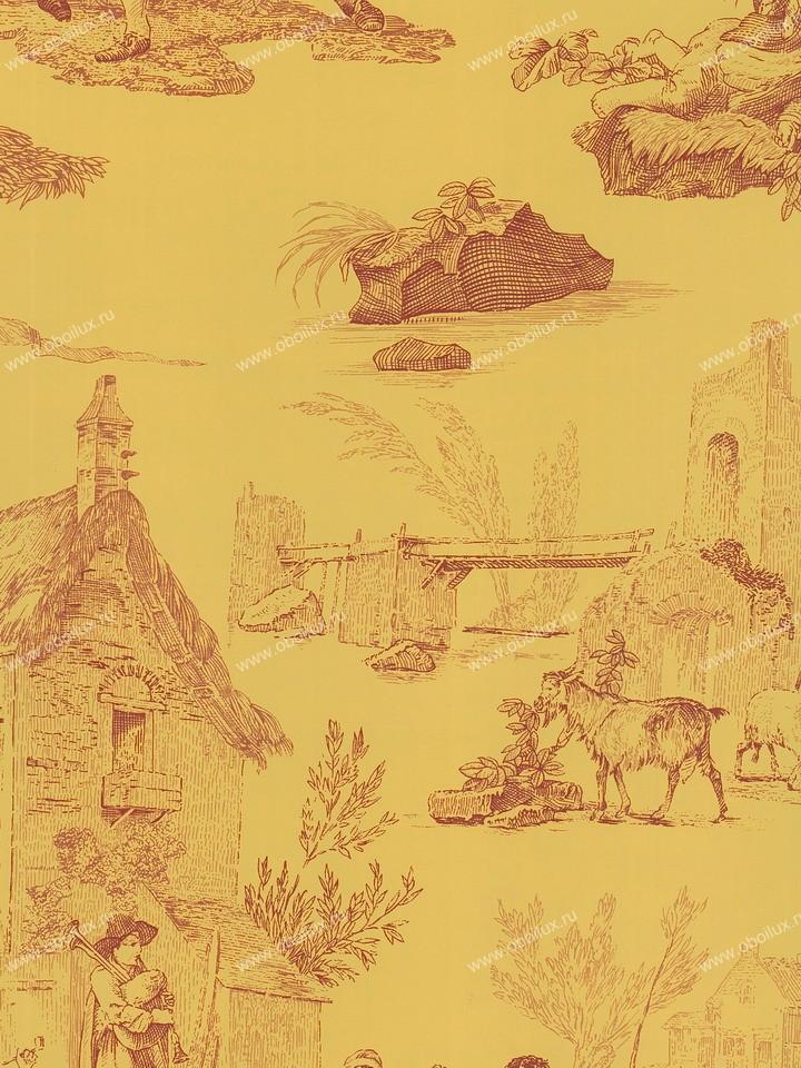 Американские обои Stroheim,  коллекция Color Gallery Amber, артикул7541E0133