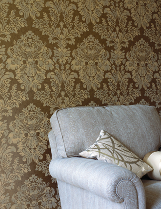 Английские обои Mulberry Home,  коллекция Imperial Wallpaper, артикулFG055A127