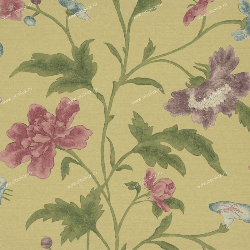 Английские обои Little Greene,  коллекция Oriental Wallpapers, артикул0275CHEMERA