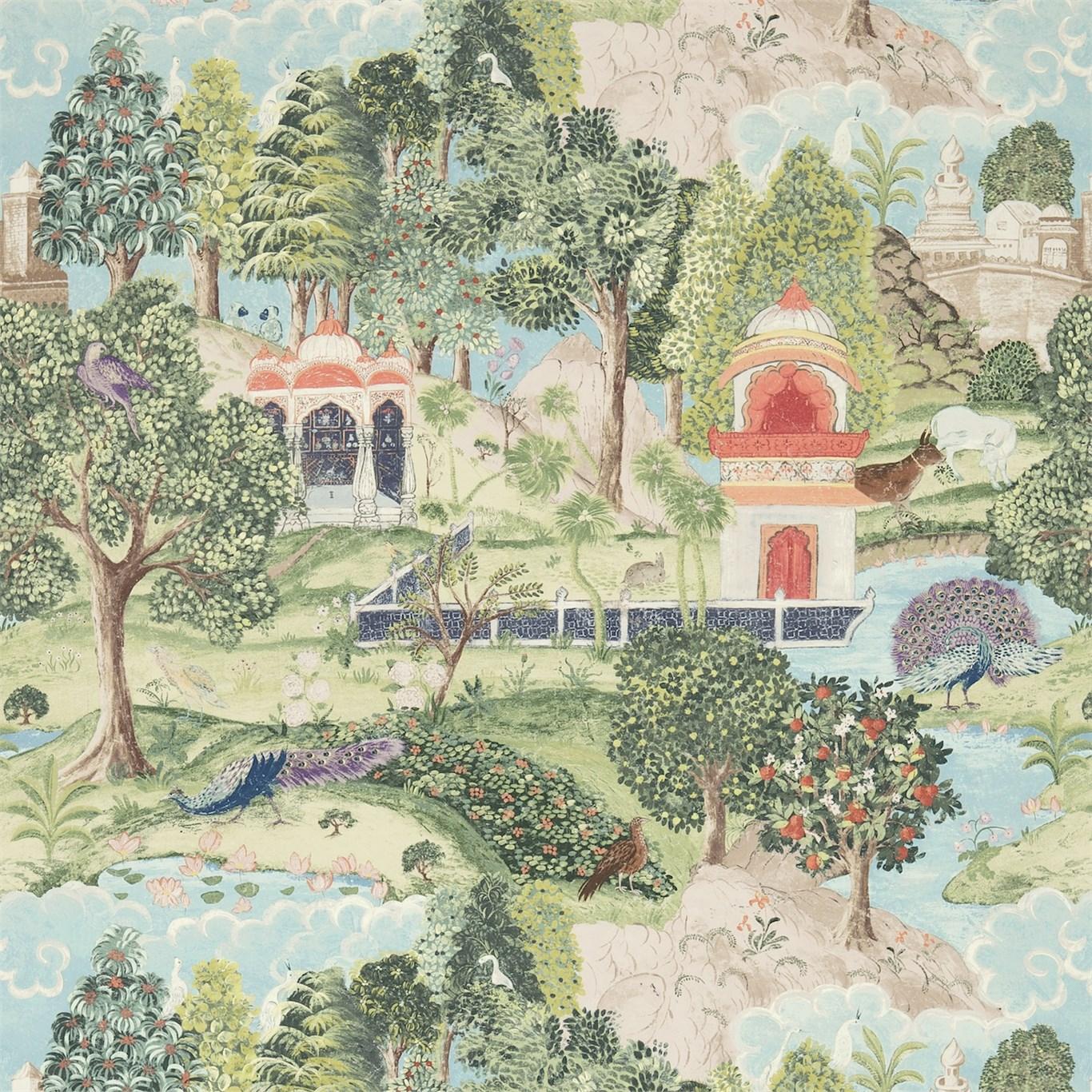 Английские обои Zoffany,  коллекция Jaipur, артикулZJAI311743