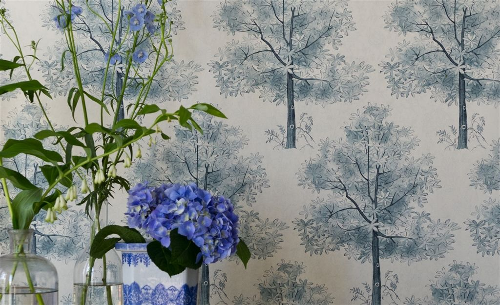 Английские обои Designers guild,  коллекция The Royal Collection - Rosa Chinensis, артикулPQ008/07