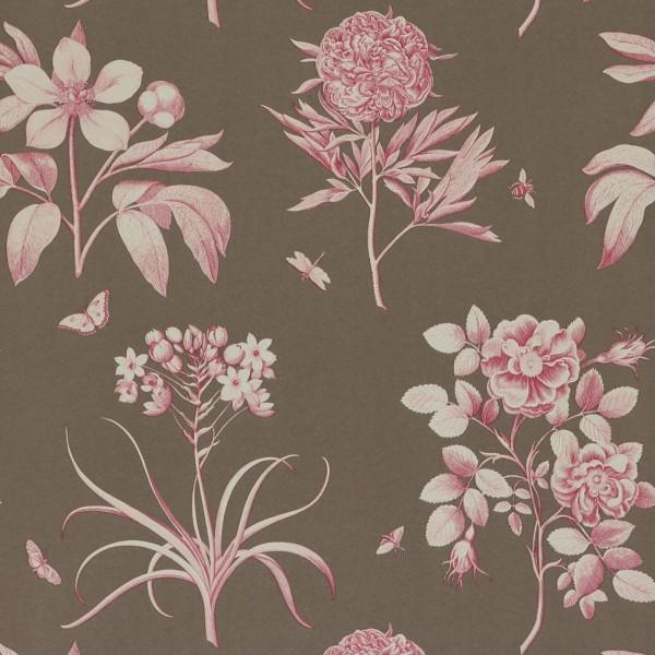 Английские обои Sanderson,  коллекция Parchment Flowers, артикулDPFWER102