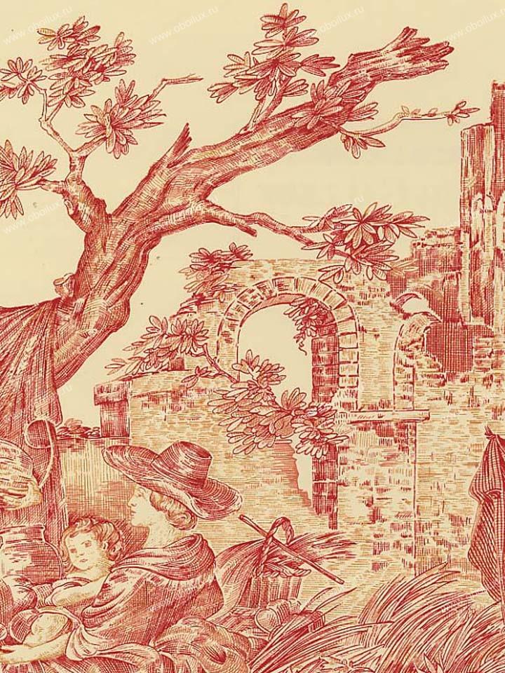 Американские обои Stroheim,  коллекция Color Gallery Crimson, артикул6281E0333