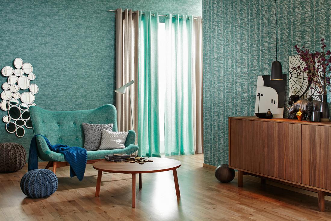 Wandfarbe blau schoner wohnen