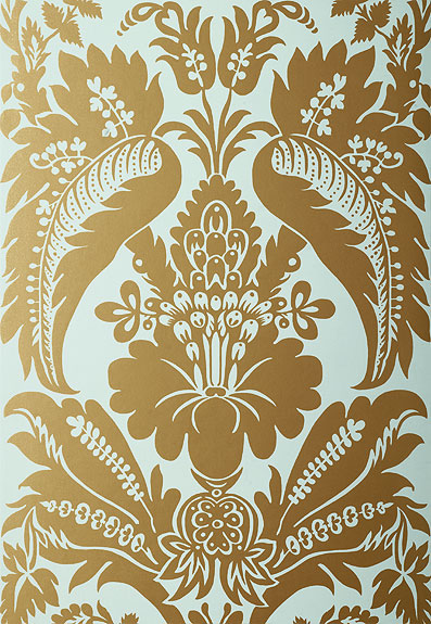 Американские обои Schumacher,  коллекция Palazzo Damasks, артикул5003732