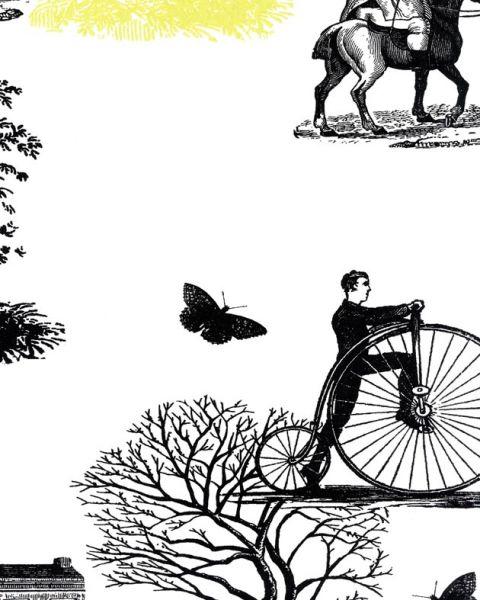 Французские обои Caselio,  коллекция Black & White, артикулBTW61057002