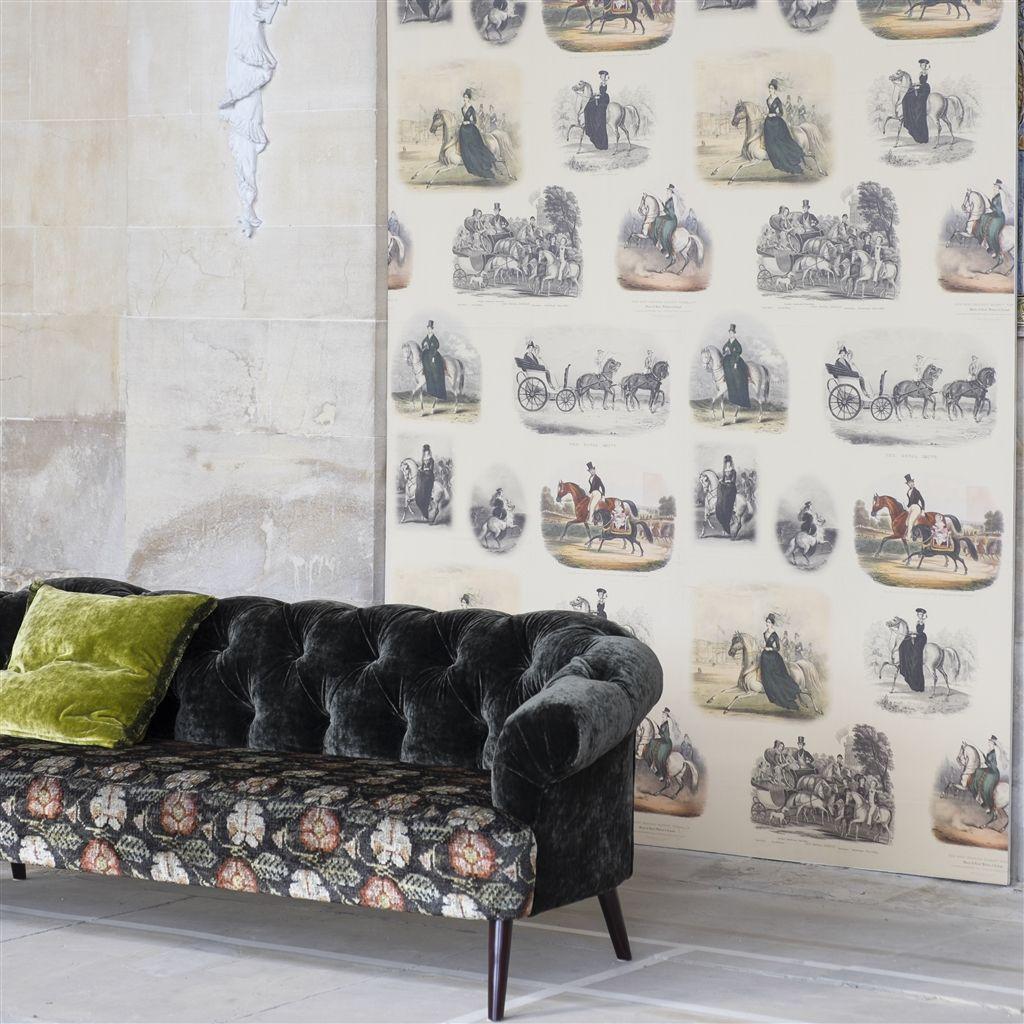 Английские обои Designers guild,  коллекция The Royal Collection - Buckingham Wallpapers, артикулPRC670/02